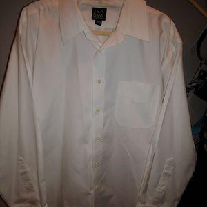 Jos. A Bank white dress shirt 18-33